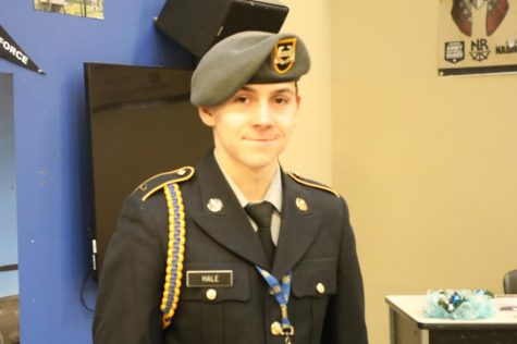 Congratulations Cadet Jacob Hale!