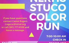 North Little Rock Student Council Holds First Annual Color Run