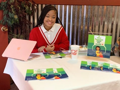 NLR Student Becomes Published Author